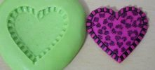Molde de Silicone Coração (3cm)