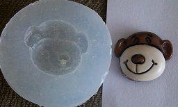 Molde de Silicone Macaco (2,1cm)