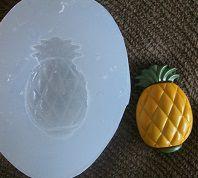 Molde de Silicone Abacaxi (2,5cm)