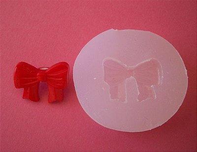 Molde de Silicone Laço vermelho (2cm)