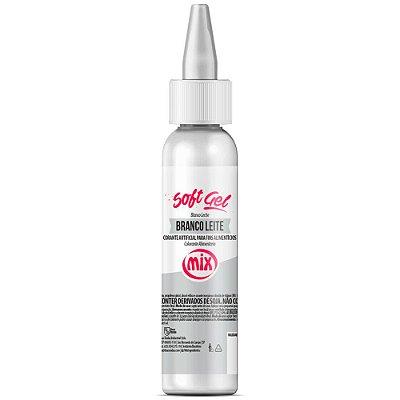 Corante Soft gel - 60g - MIX Branco Leite
