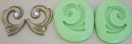 Molde de Silicone Arabesco conjunto (2,8cm)