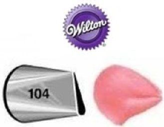 Bico pequeno nº 104 Pétala - Wilton