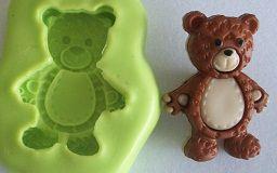 Molde de Silicone Urso (2,5cm)