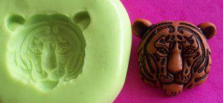 Molde de Silicone Tigre P p/ doces (1,2cm)