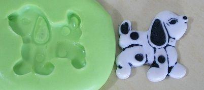 Molde de Silicone Cachorro (2cm)