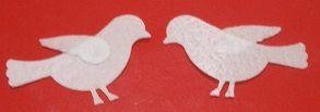 Aplique Pássaro- papel de arroz - 1878 (3,5cm)