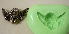 Molde de Silicone Anjo fiorucci (2,7cm)
