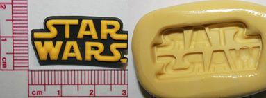 Molde de Silicone  Star Wars -Letra (3cm)