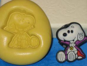 Molde de Silicone Snoopy sentado (2,2cm)