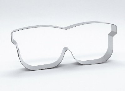 Cortador de biscoito Óculos (11cm)