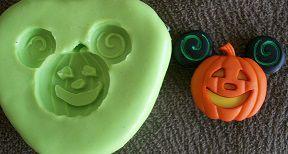 Molde de Silicone Mickey - abóbora (2,7cm)