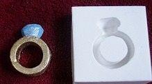 Molde de silicone Anel G  - 4889 (3,2cm)