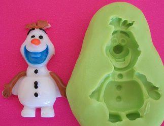 Molde de Silicone Frozen (3,5cm)