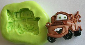 Molde de Silicone Carro guincho (3cm)