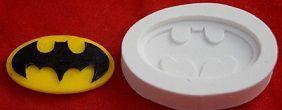 Molde de silicone Batman  - 4753 (4,5cm)