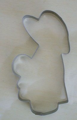 Cortador de biscoito Menina (9cm)