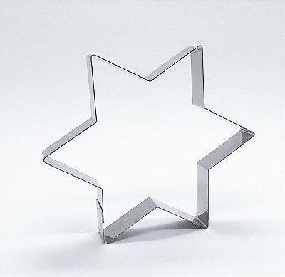 Cortador de biscoito Estrela 6 pontas