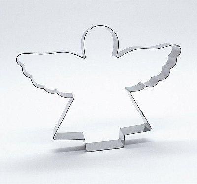 Cortador de biscoito Anjo (10cm)