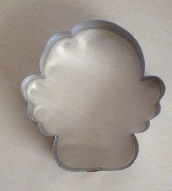 Cortador de biscoito Anjo (9x8cm)