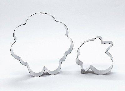 Cortador de biscoito Ovelha (8cm) 2 peças