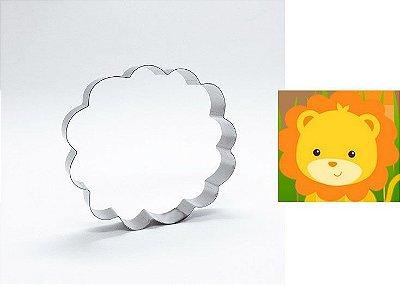 Cortador de biscoito Leão (9x8,5cm)