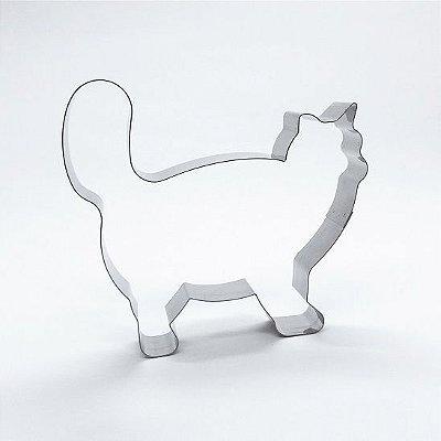 Cortador de biscoito Gato (9cm)