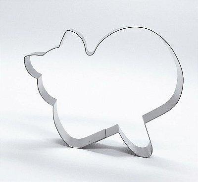 Cortador de biscoito Gato
