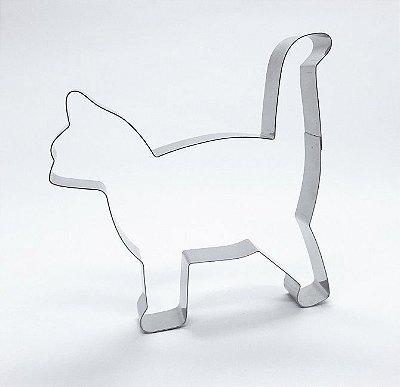 Cortador de biscoito Gato (10,5x11cm)