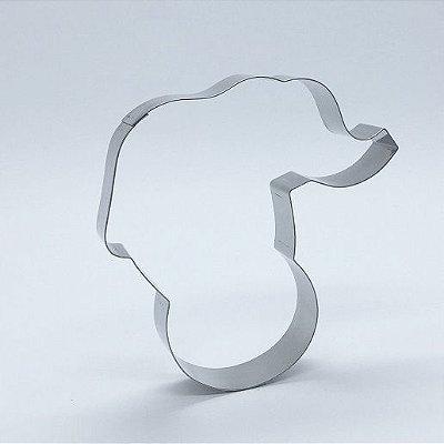 Cortador de biscoito Elefante de circo (8x8cm)