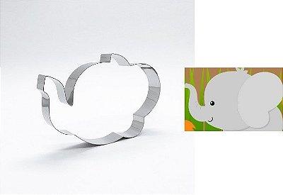 Cortador de biscoito Elefante (10x7,5cm)