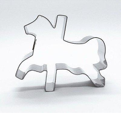 Cortador de biscoito Cavalo de carrossel