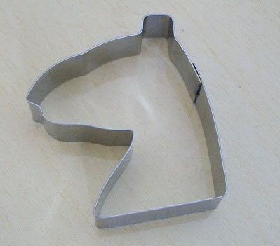 Cortador de biscoito Cavalo (5x4,2cm)