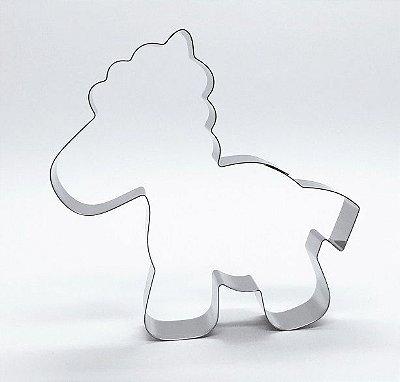 Cortador de biscoito Cavalinho (9x9cm)