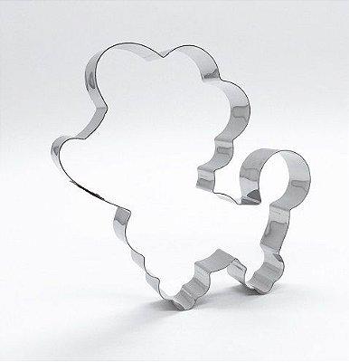 Cortador de biscoito Cachorro (10x9,5cm)