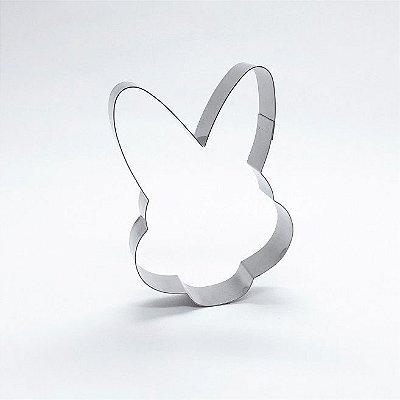 Cortador de biscoito Rosto de coelho (9cm)