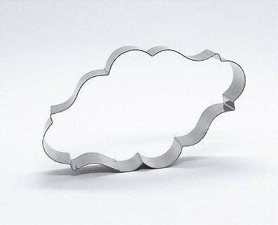 Cortador de biscoito Placa (11x6,5cm)
