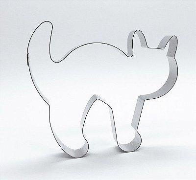 Cortador de biscoito Gato (10cm)