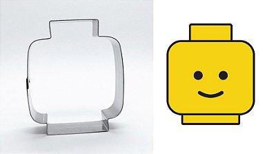 Cortador de biscoito Lego (7cm)