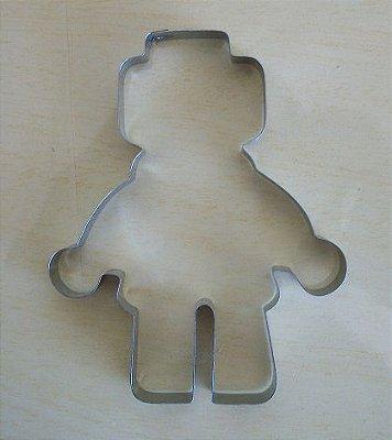 Cortador de biscoito Lego (10x7,3cm)