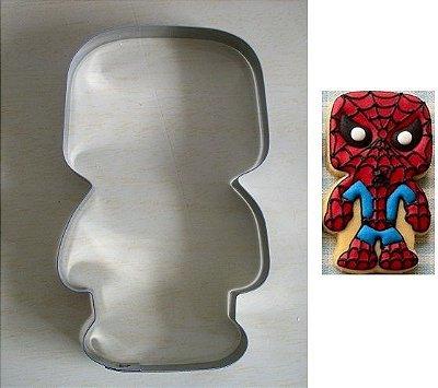 Cortador de biscoito Homem Aranha
