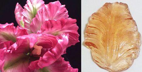 Marcador Folha Orquídea Isadora- 4035 (5,5cmx9,5cm)