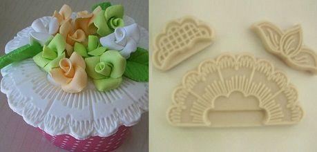 Marcador para cupcake e arabescos - 4522 (4 e 8,5cm)