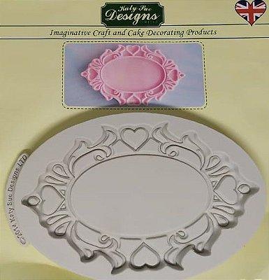 Molde de silicone Moldura (Katy Sue Designs - importado)