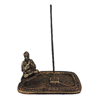 Incensário Retangular  Buda
