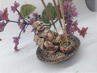 Incensário pratinho Buda