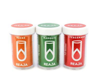 Kit de Reagentes Colorimétricos para Catinonas - 10 Testes Cada Reagente