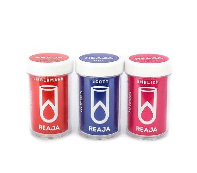 Kit de Reagentes Colorimétricos para Cocaína - 10 Testes Cada Reagente