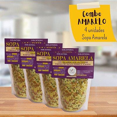 COMBO 4X SOPAS AMARELAS