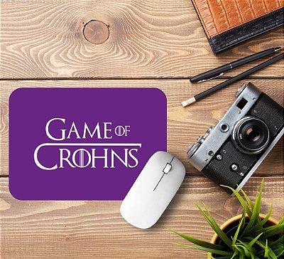 Mousepad Game of Crohns Roxo